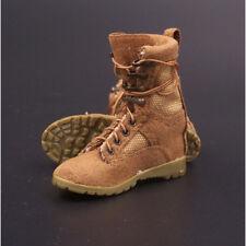 "1/6 Scale VM-002 Desert combat boots Sand color Boots Model For 12"" Male Figure"