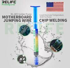 Relife Solder Paste Rl 405 138c Low Temp Lead Free