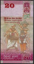 2010 Sri Lanka 20 Rupees UNC Notes