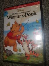 The Many Adventures of Winnie the Pooh Disney (DVD + Digital Copy)  Brand New