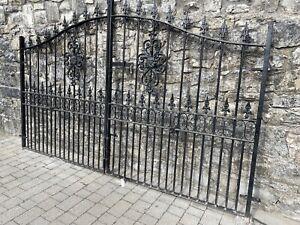 Royale Premier Galvanised Wrought Iron Style Estate Gates