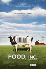 FOOD, INC. Movie POSTER 27x40 Michael Pollan Eric Schlosser