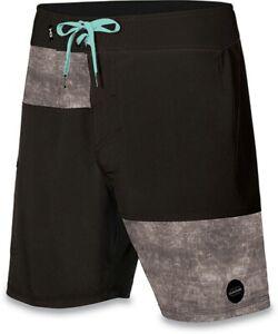 Dakine Men's Venture Boardshorts Size 34 Black Grey New Board Shorts