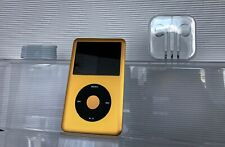 Apple iPod Classic 7th Generation 512GB GOLD *PRISTINE* NEW XL Battery WARRANTY