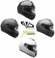 Vega VR1 Helmet Modular Flip Up Lightweight Inner Sunshield DOT ECE 2XS-3XL