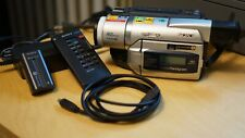 Sony Handycam Dcr-Trv520 Camcorder for Digitizing Digital-8 See Description