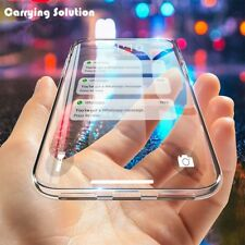 For iPhone 7 8 X XS MAX XR 11 Pro Crystal Clear Case Transparent Soft TPU Rubber