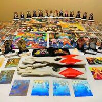 VINTAGE Power Rangers Collection Lot Saban Magazine Folder Holograms Gloves 1994