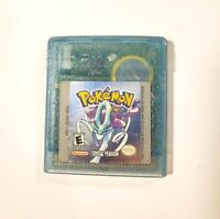 Pokemon Crystal Version AUTHENTIC Nintendo Gameboy Color 2001 Tested Saves GBC