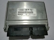 00-04 AUDI A6 4.2L ENGINE COMPUTER MODULE ECU 4D0907558S 4D0997558MX 0261206204