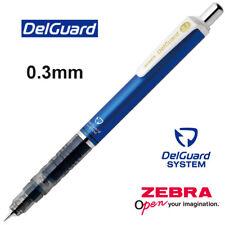 Zebra : Delguard Mechanical pencil 0.3mm - BLUE Barrel