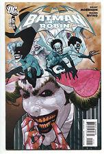 Batman and Robin 15 B 1st Series DC 2010 NM 1:25 Frazer Irving Variant Joker