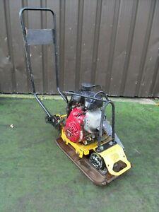 JCB Wacker Compactor Vibrating plate Honda GX100 petrol engine ,