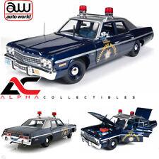 AUTOWORLD AMM1009 1:18 1975 DODGE MONACO NEVADA HIGHWAY PATROL CAR