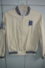 Detroit Tigers-G3 Womens Medium 4 Time World Series Champions Linen Jacket/NWT