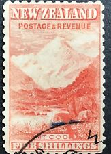 NEW ZEALAND 1898 PICTORIALS 5/= MT COOK FINE USED