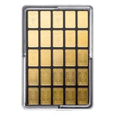 Goldbarren 25 x 1 Gramm UnityBar Heimerle + Meule