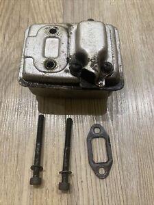 Mantis Tiller Rotavator SV4/B Genuine Exhaust Muffler