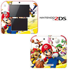 Vinyl Skin Decal Cover for Nintendo 2DS - Super Mario Basketball