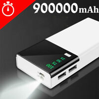Huge Capacity Power Bank 900000mAh Portable New External Battery Charger