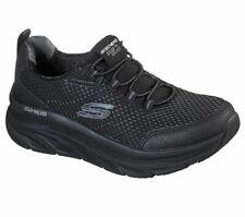 Bungee Skechers Black Shoes Women Sport Walker Memory Foam Cushion Slipon 149004
