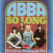☆ CD Single ABBA So Long 2-Track CARD SLEEVE   ☆