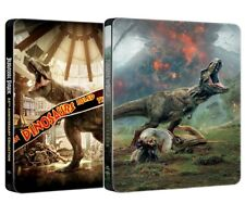 JURASSIC PARK + WORLD COLLECTION STEELBOOK 5 FILM (5 BLU-RAY) SPECIAL EDITION