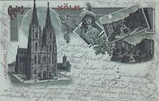 Mondscheinkarten aus Deutschland vor 1914 mit dem Thema Dom & Kirche