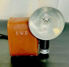 Vintage Argus Argoflex Seventy-Five Camera with Flash and Leather Case