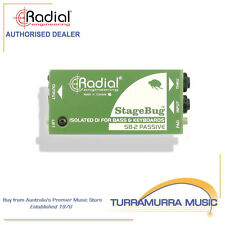 Radial SB-2 StageBug Stage Bug SB2 Passive DI Direct Input Box