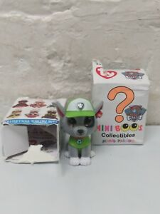 2 Paw Patrol Mini Boos TY Hand-Painted Collectible Figures 2018 Toy
