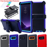 Samsung Galaxy Note8 Case Heavy Duty Cover Stand Belt Clip Fit Otterbox Defender