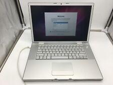 "New listing APPLE MacBook Pro 15"" A1226 2.2ghz C2D, 200gb HDD, 2gb RAM, macOS X SNOW LEOPARD"