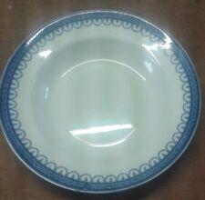 "LASOL WARE c1930s  SIX DINNER PLATES,  ""Claremont Blue"".              A12"