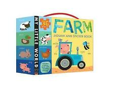 Farm Jigsaw and Sticker Book by Little Tiger Press Group (Novelty book, 2015)