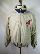 E5365 VTG STARTER Atlanta Braves MLB Baseball Pullover Jacket Size M