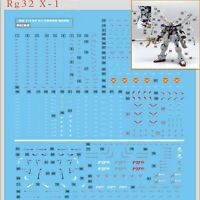 DIY DL Water Decals Stickers for Bandai RG 1/144 X1 Crossbone Gundam Model Kit