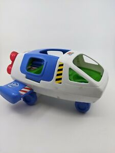 Toy Story Buzz Lightyear's Talking Space Ship Fisher Price Little People Vehicle