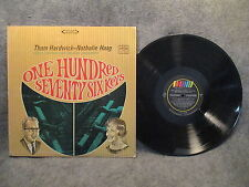 33 RPM LP Record Thom Hardwick & Nathalie One Hundred Seventy Six Keys WST-8431