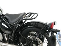 Triumph Bonneville Bobber (From 2017) Pipe Luggage Rack Black BY HEPCO & BECKER