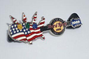 Hard Rock Cafe Pins - Vintage Surfers' Paradise 4th Of July 2009 , Ltd Ed 100