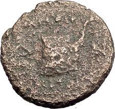 AMPHIPOLIS in MACEDONIA 95BC RARE R1 Ancient Greek Coin JUPITER GALLEY i63769