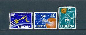 Liberia   408-9,C151 MNH, Space Exploration, 1963