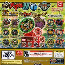 Youkai yokai yo-kai watch medal U Vol.1 type all 12 species set stickers Japan