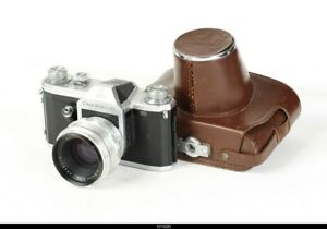 Camera   Contax D Pentacon ZI  With Lens Zeiss Biotar 2/5,8cm Red T   M42