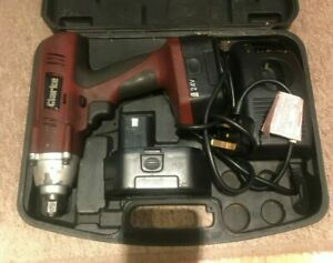 Machine Mart 24 Volt Cordless Impact Driver - Needs New Batteries