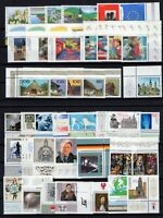 P135779/ WEST GERMANY – YEAR 1995 MINT MNH MODERN LOT – CV 100 $