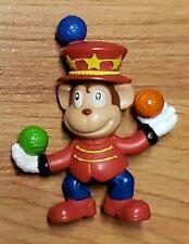 "Curious George Ringmaster Juggling 2.5"" Mini Figure *used*"