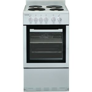 Euromaid 50cm Upright Cooker White Freestanding Electric Oven EW50 RRP $998.00