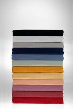 Spannbettlaken Aqua / Baumwolle / Elasthan Wasserbetten geeignet/ versch. Farben